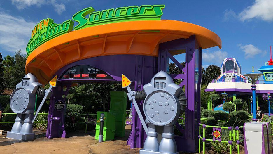 Toy Story Land, na Disney