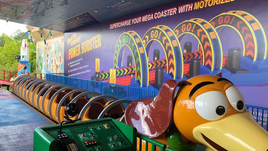 Atração da Toy Story Land