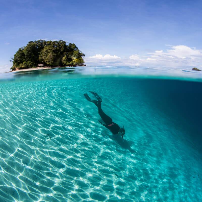 cidades litorâneas mais felizes dos Estados Unidos: Solomons Island