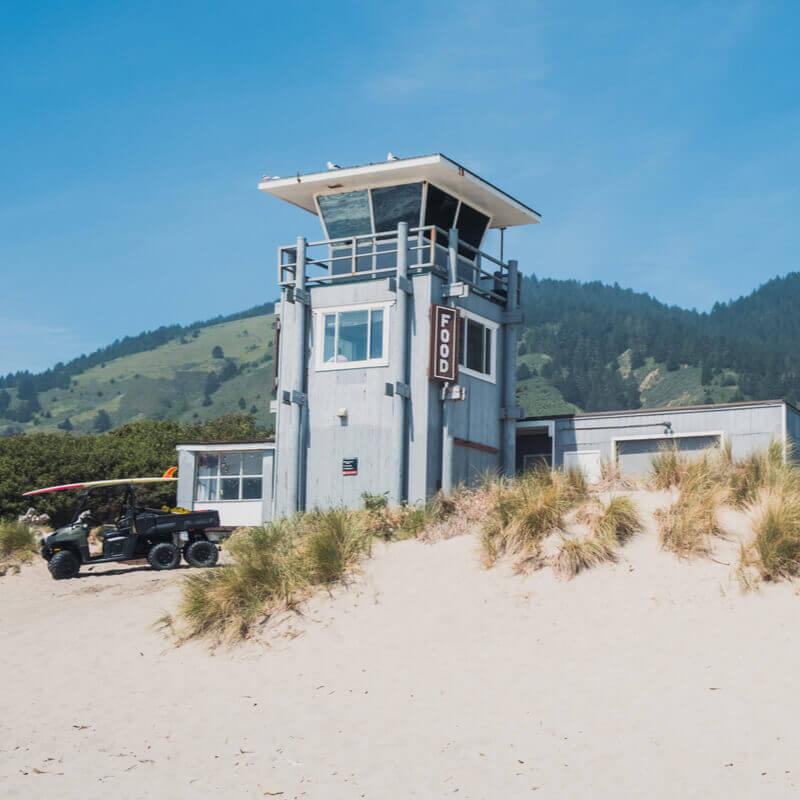 As cidades litorâneas mais felizes dos Estados Unidos: Stinson Beach