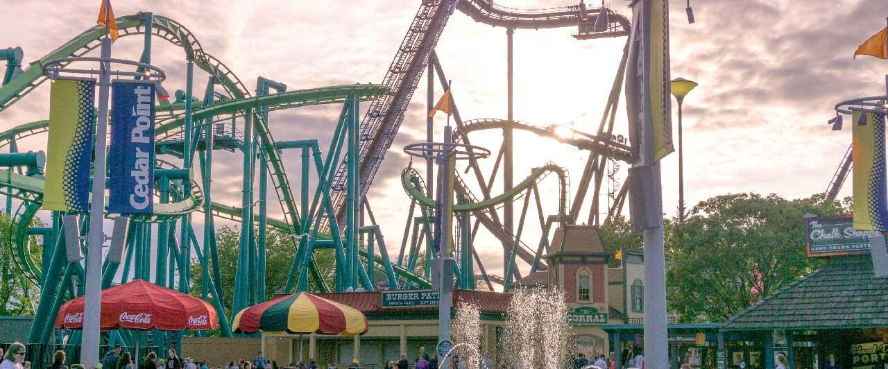 Melhores parques de diversão dos EUA