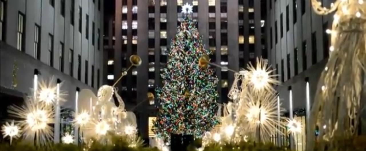 O Natal já chegou em Nova York!