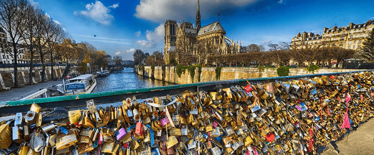 O lugar mais romântico de Paris