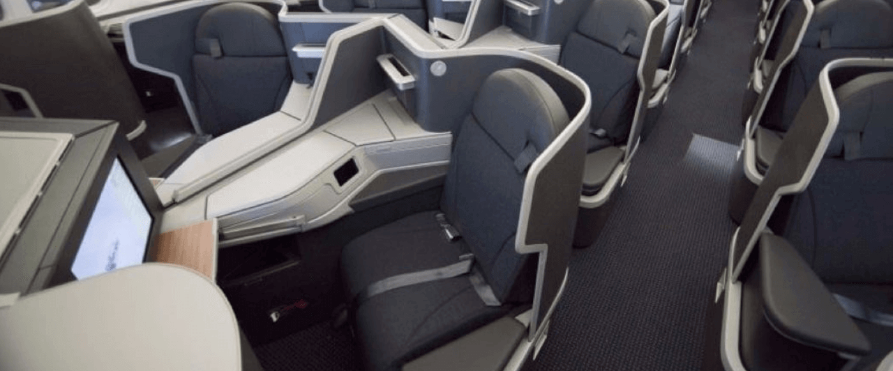 Nova Business Class American Airlines