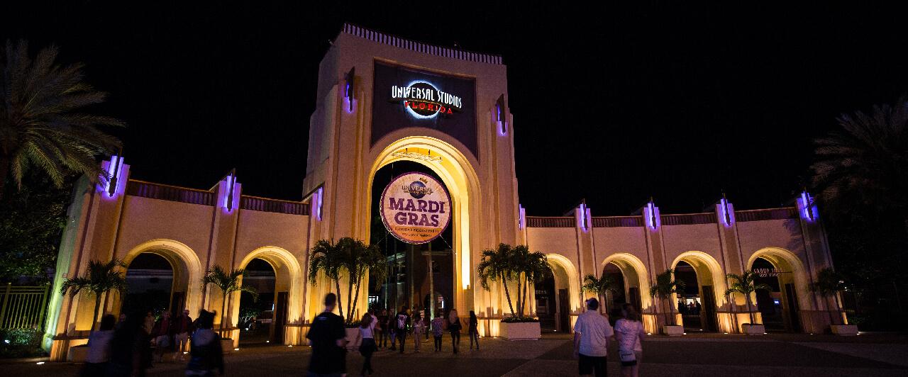 Mardi Gras no Universal Studios Florida