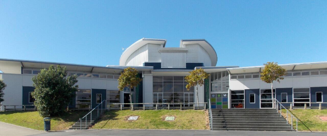Visita da Whangaparaoa College, da Nova Zelândia