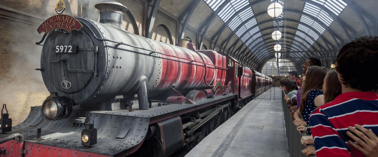 Hogwarts Express na Universal de Orlando