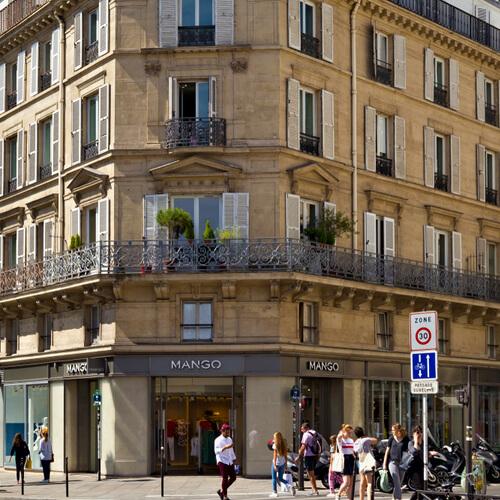 Melhores ruas para comprar em Paris: rue de Rivoli.