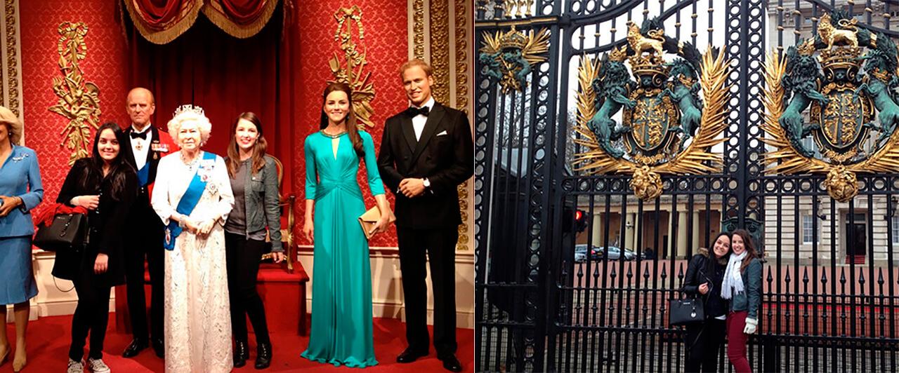 4 semanas em Londres –  Carolina e Isabela