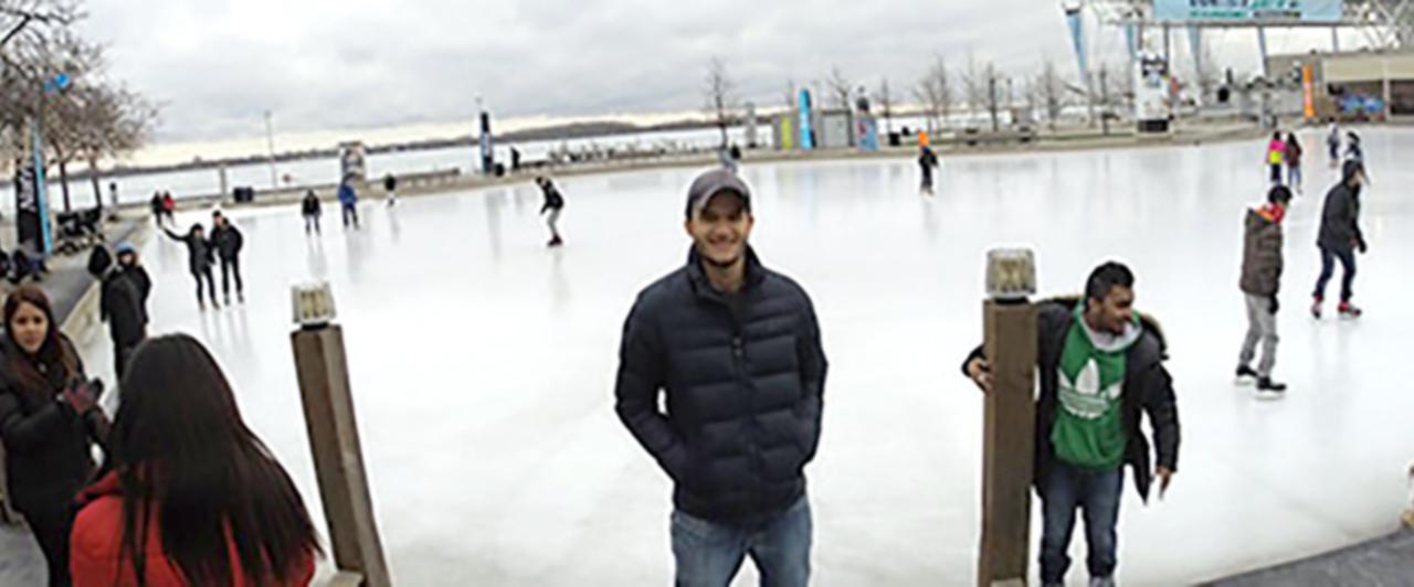Daniel Leite optou pelo Intercâmbio em Vancouver – Canadá.