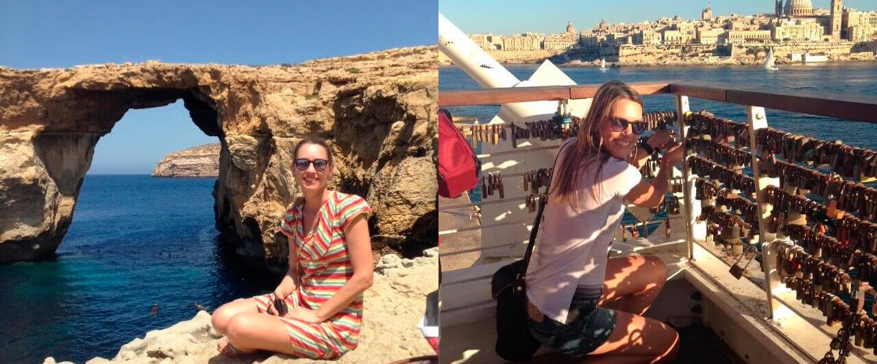 """""""Escolhi Malta como destino, estudar e viajar!"""" Gabriela Shrank"""
