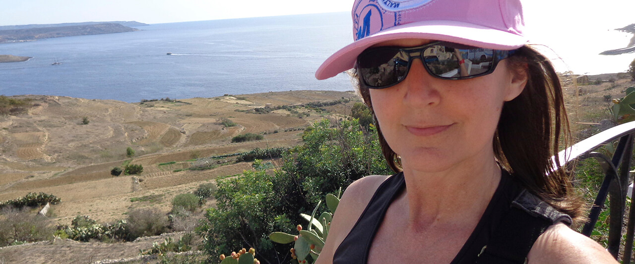 Depoimento de Neusa sobre seu intercâmbio em Malta