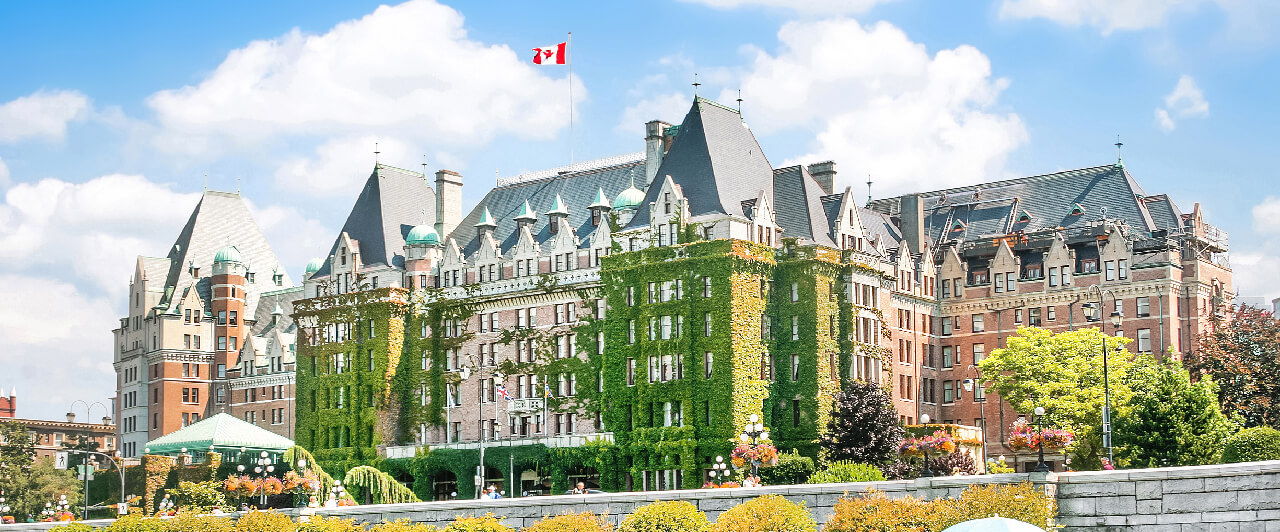 Victoria e outras 2 cidades para fazer curso em uma universidade no Canadá