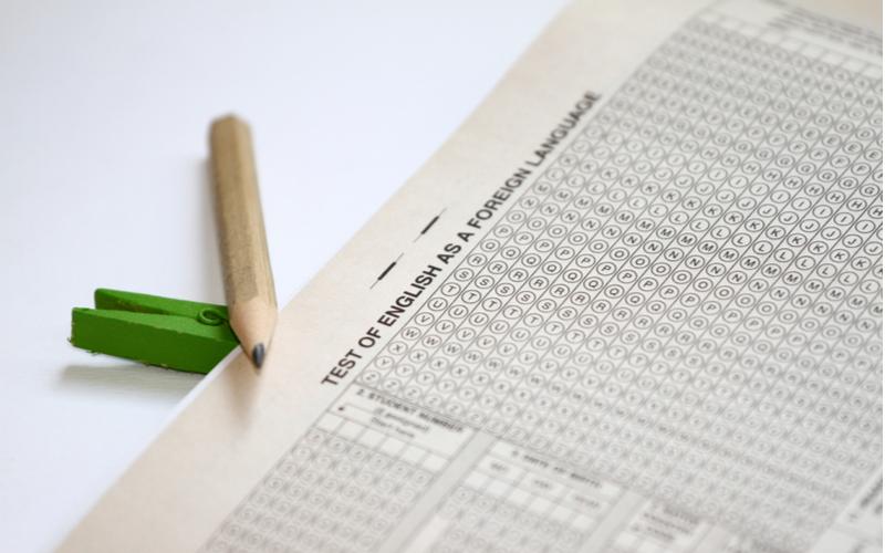 Exame de proficiência em inglês: TOEFL