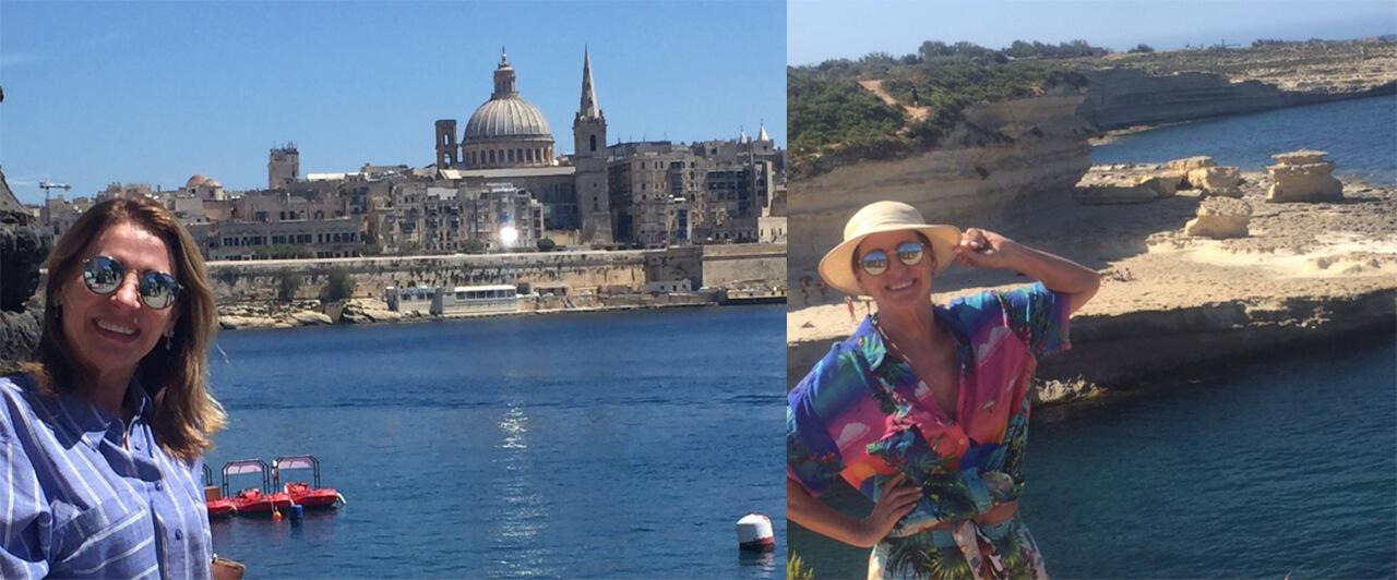 Maria Solange estudou na EC de Malta e conta como foi
