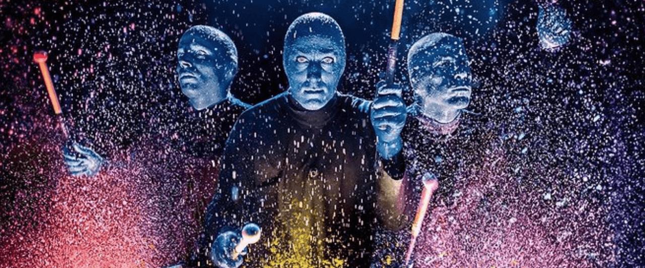 Disney: Blue Man e Cirque du Soleil
