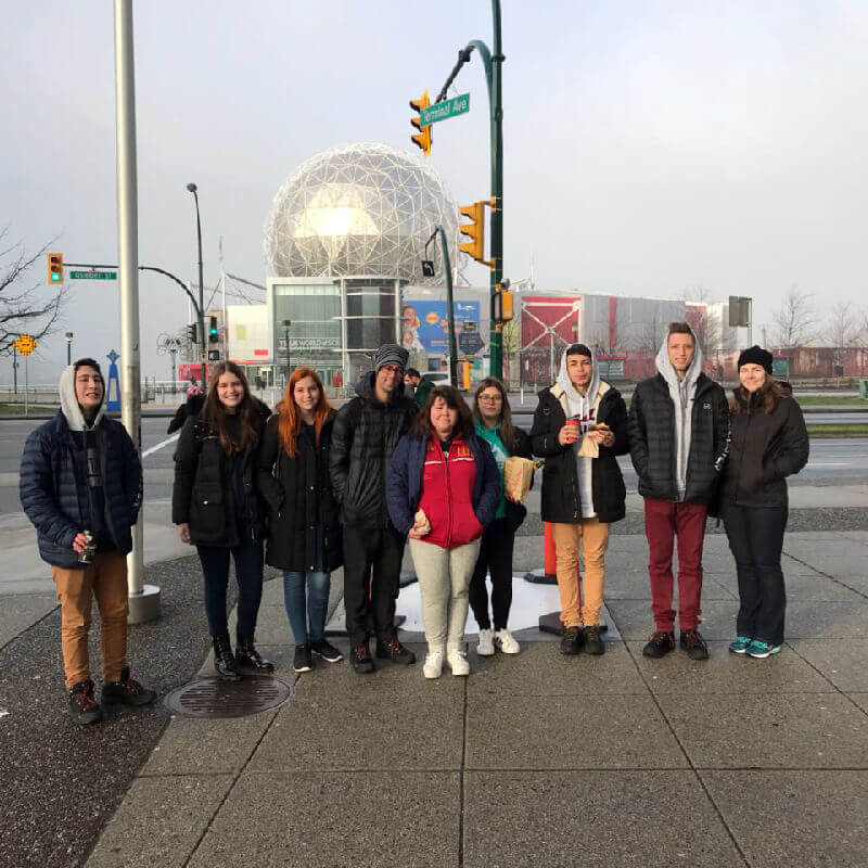 Férias Teen Vancouver Jan-2018: Science World