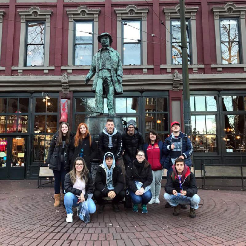 Férias Teen Vancouver Jan-2018: Gastown
