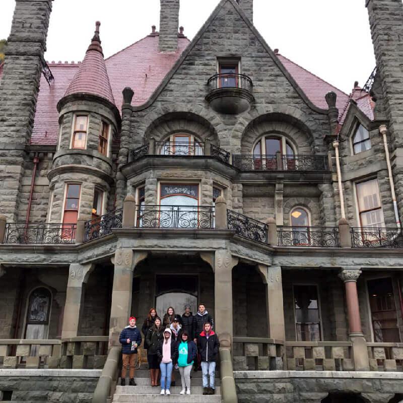 Férias Teen Vancouver Jan-2018: Craigdarroch Castle e Royal BC Museum