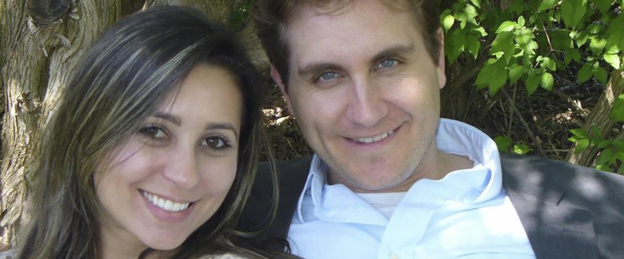 Bruna conheceu o marido durante o Au Pair
