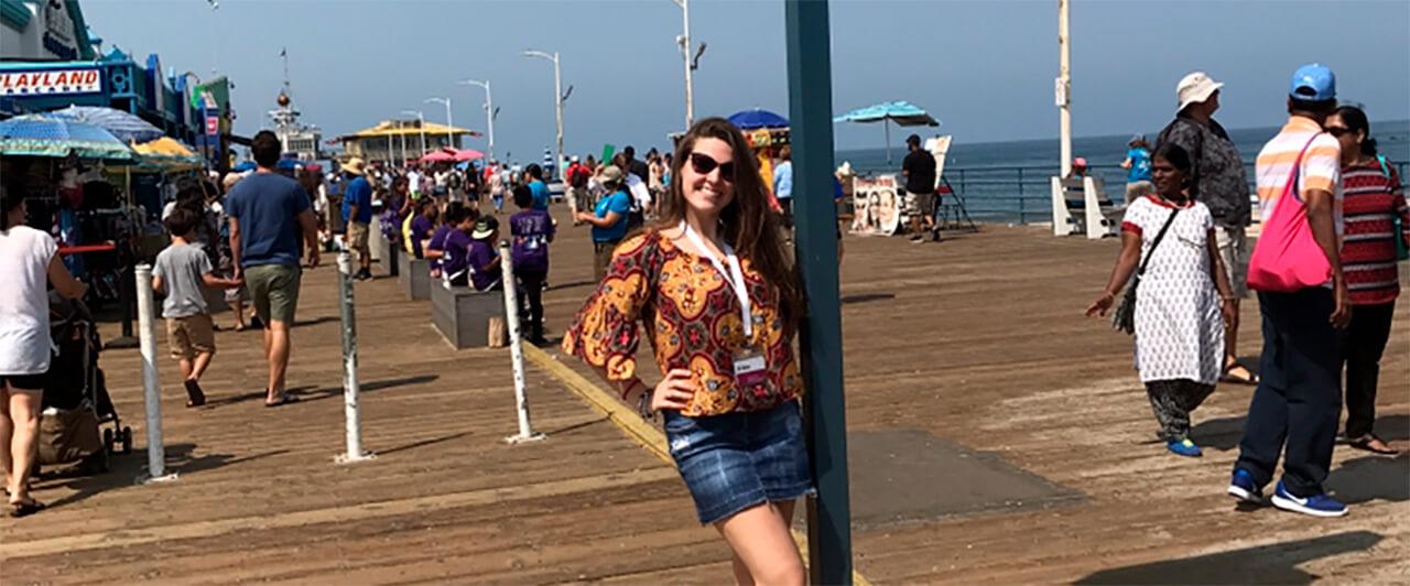 Gabriela comemorou os 15 anos no Férias Teen Malibu