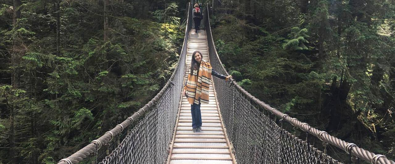 Amanda foi sozinha para Vancouver e contou como foi
