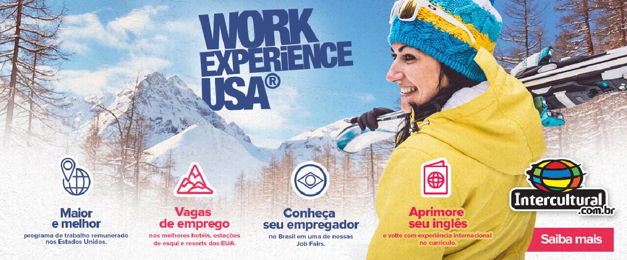 Fique por dentro: programe-se para os eventos do Work Experience USA 2018-2019