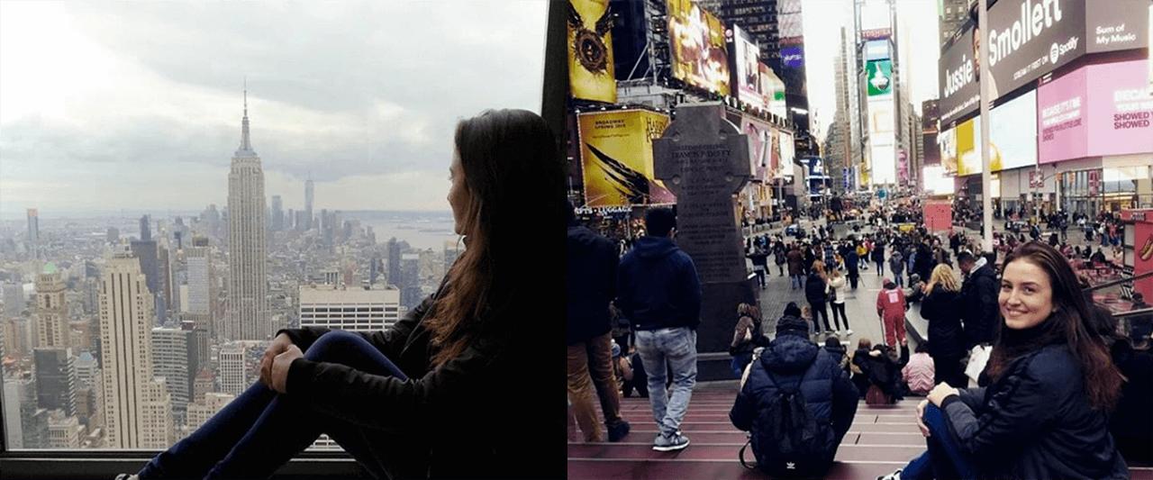 Work Experience USA: A Ana Luisa trabalhou em Liberty Mountain