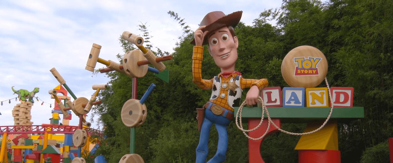 Disney: Inaugura a Toy Story Land nova atração do Hollywood Studios
