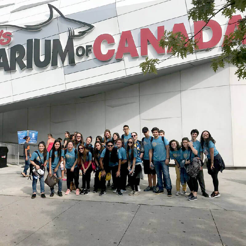 High School Canadá – Visita ao Ripley's Aquarium