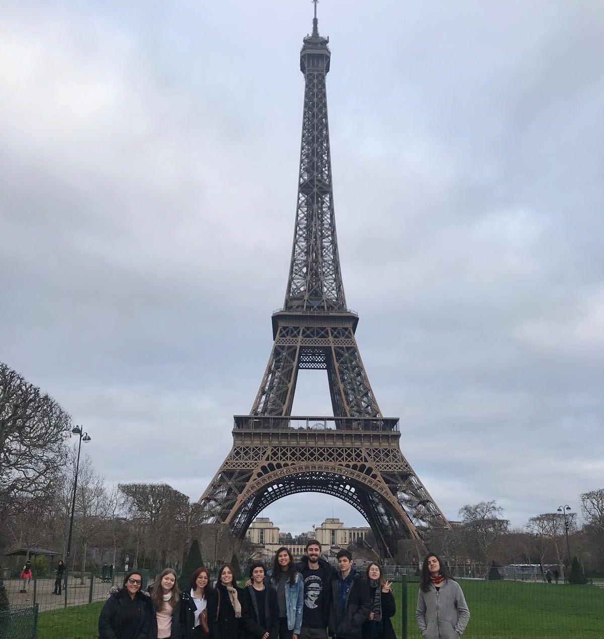 Torre Eiffel, Museu do Louvre, Notre Dame, Praça de La Concorde e Jardim Tuileries – Janeiro/2019