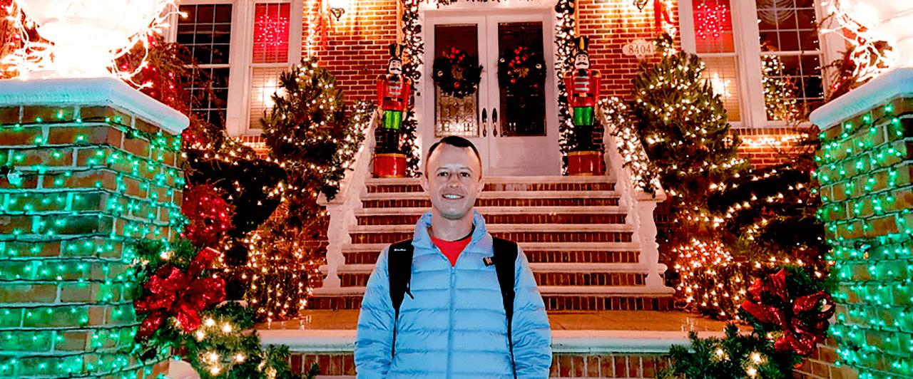 Natal em Nova York: veja a decoração das casas!