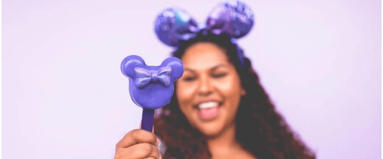 Disney: o purple é a cor do momento nos parques!