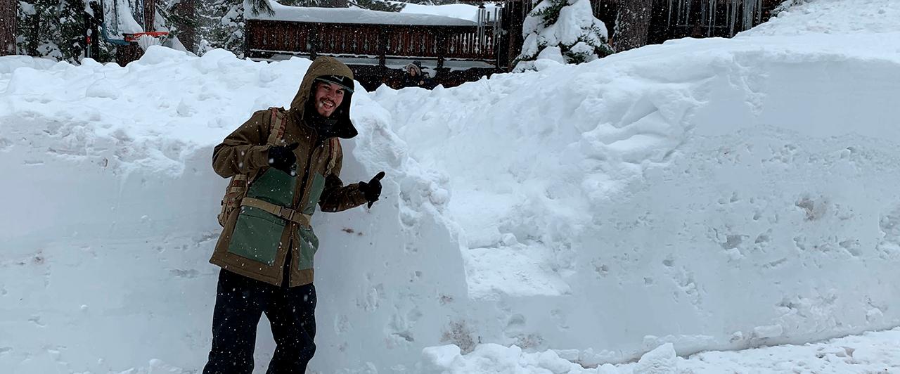 Work Experience USA: Erik trabalhou em Alpine Meadows