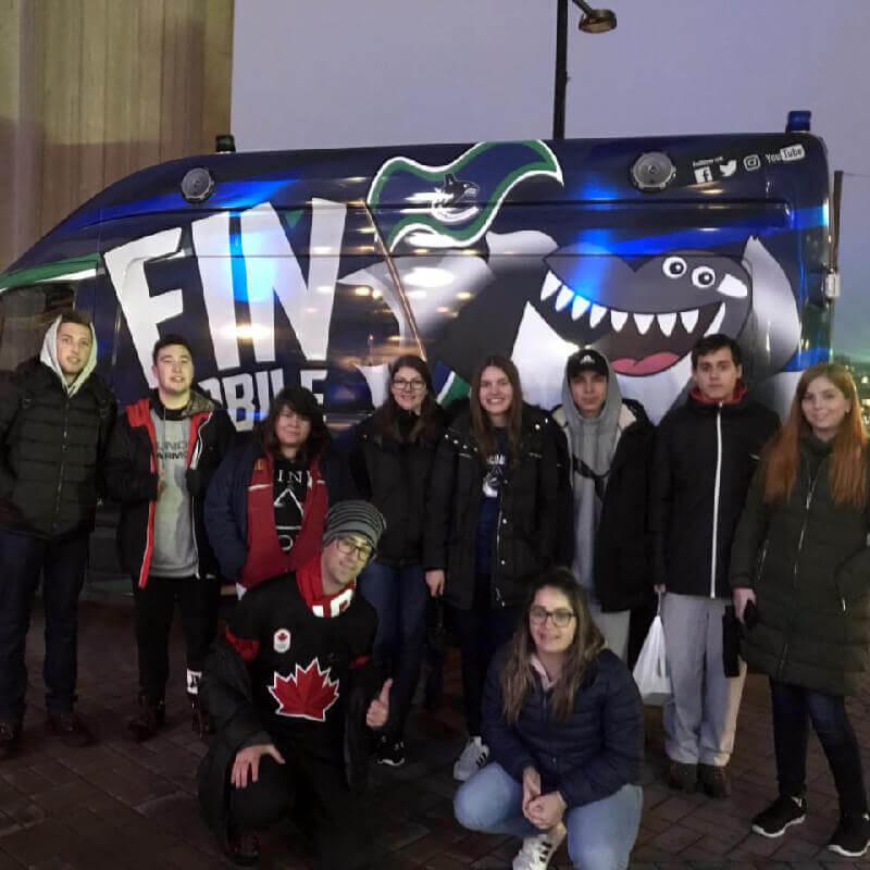 Férias Teen Vancouver Jan-2018: Hockey
