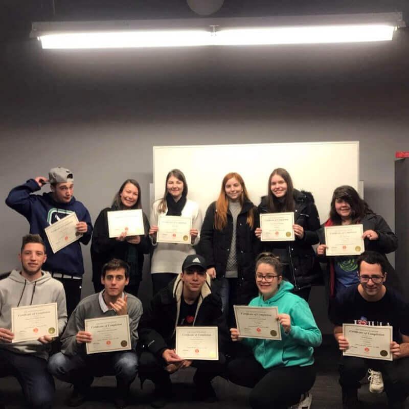 Férias Teen Vancouver Jan-2018: Diplomas e Extreme Air Park