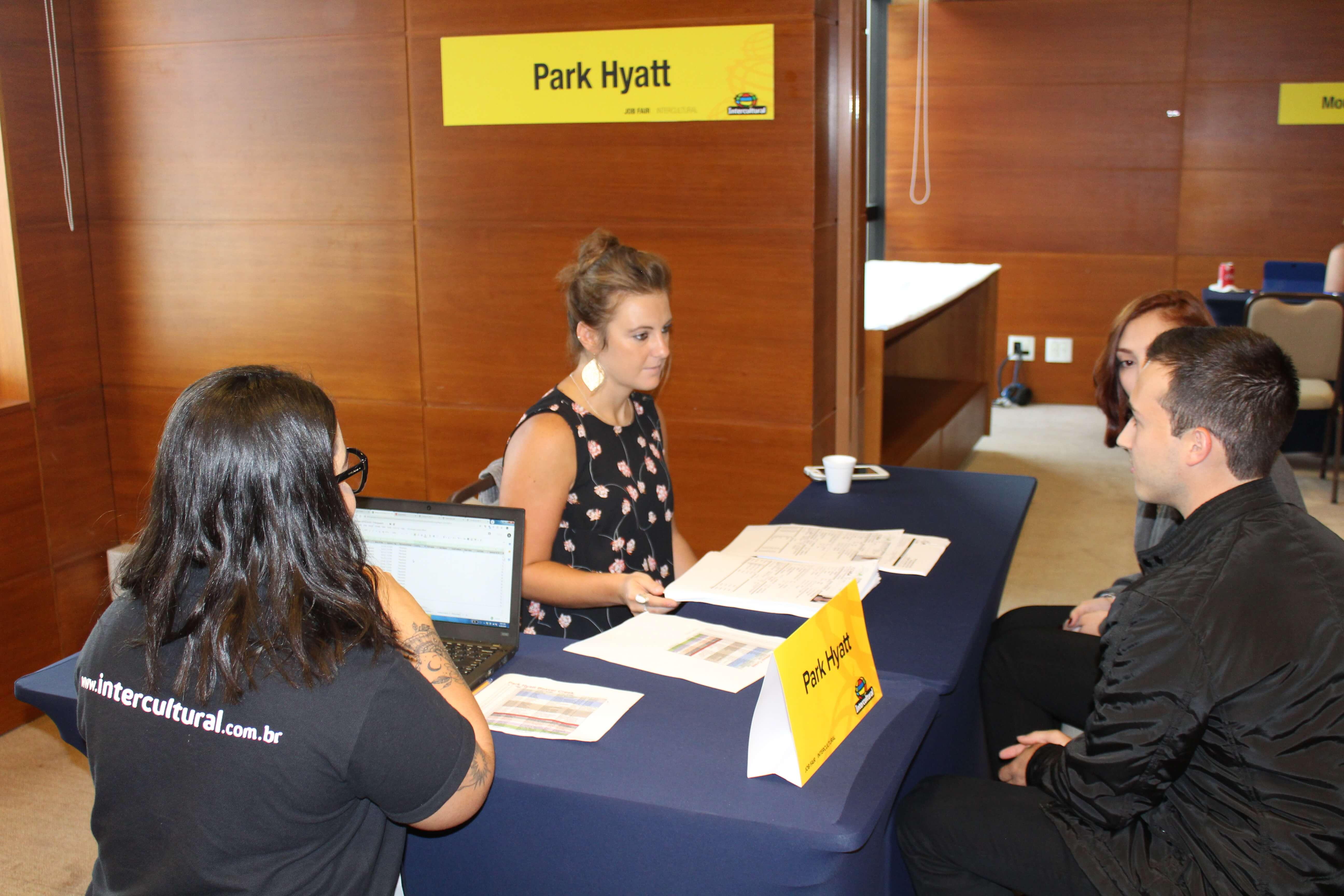 Entrevista do empregador Park Hyatt
