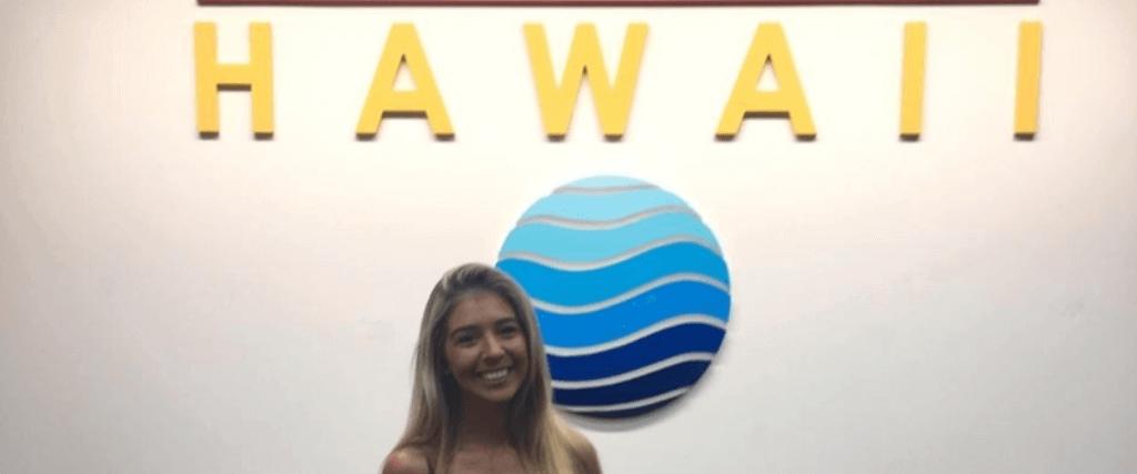 Partiu Honolulu: Fernanda fez intercâmbio no Hawaii