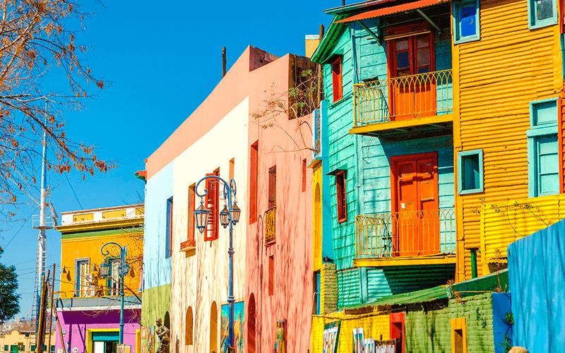 Conheça o Caminito, em Buenos Aires