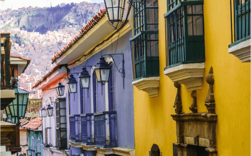 La paz, capital da Bolívia