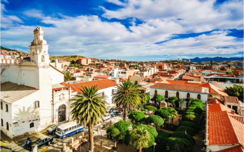 Sucre, cidade na Bolívia