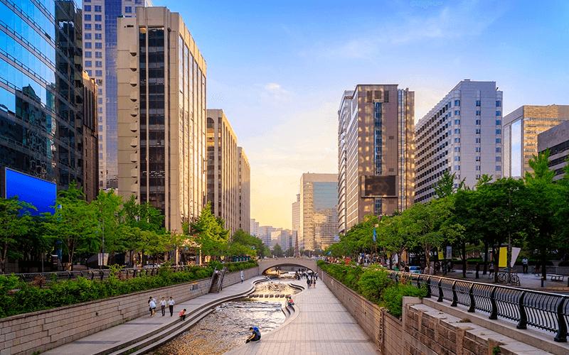 Viaje ou estude um novo idioma na Coreia do Sul