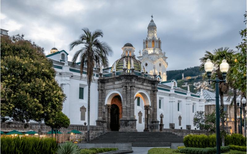 Quito, cidade turística e capital do Equador