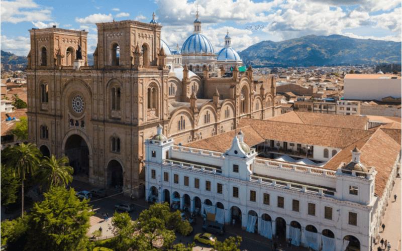 Conheça Cueca, uma das cidades do Equador