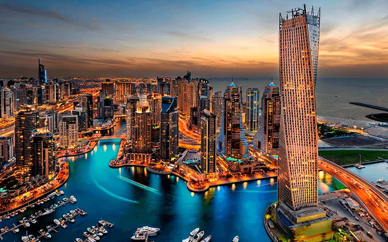 Faça um intercâmbio em Dubai, principal cidade dos Emirados Árabes Unidos