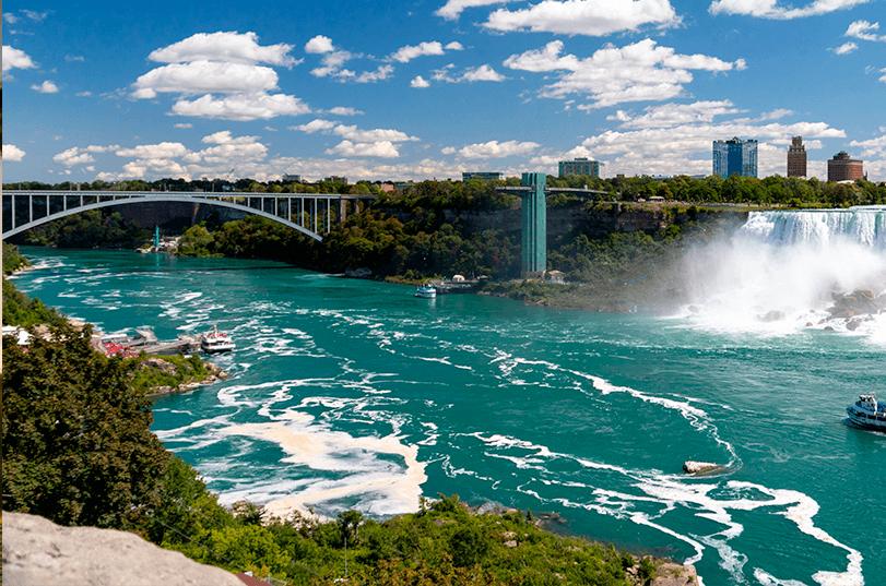 Excursão por Niagara Falls, Toronto