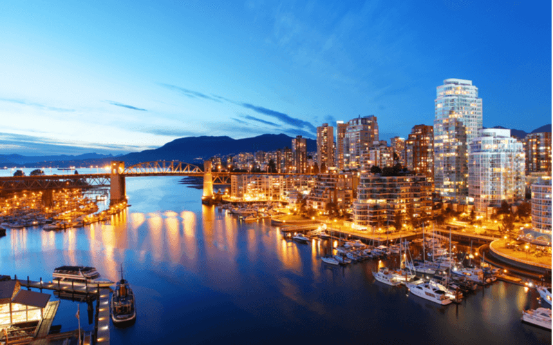 Faça seu intercâmbio no Canadá, na cidade de Vancouver