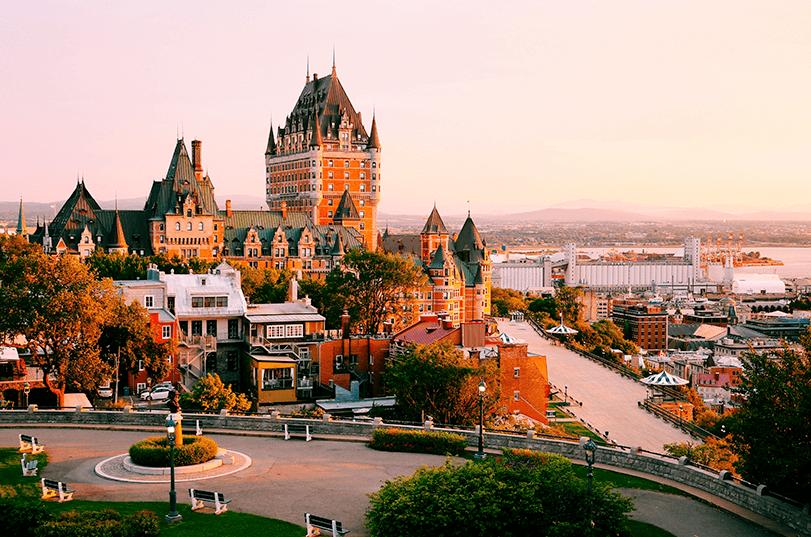 Passeio por French Canada: Montreal e Quebec