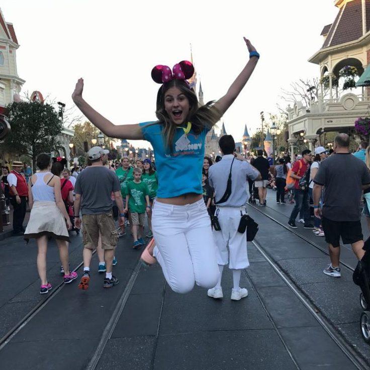 Carol, viajou para a Disney