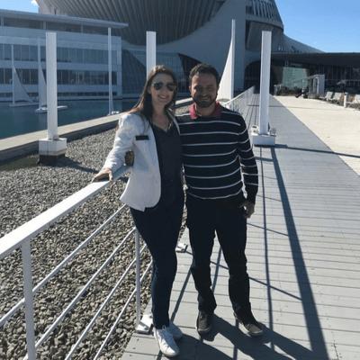 Dalane e Marcelo curtiram a lua de mel e estudaram inglês no Canadá